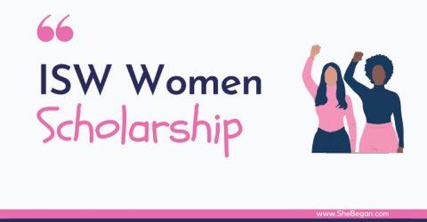 International Scholarship for Women 2021-2022