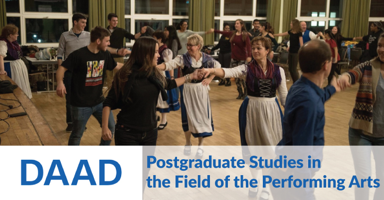 Postgraduate Studies in the Field of the Performing Arts