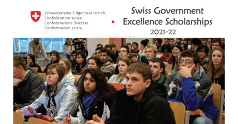 Swiss Government Excellence Scholarships for Foreign Scholars and Artists for 2021-22