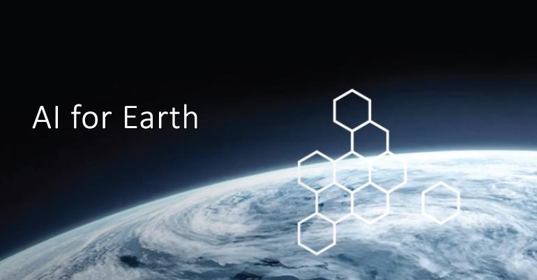 AI for Earth Innovation 2021
