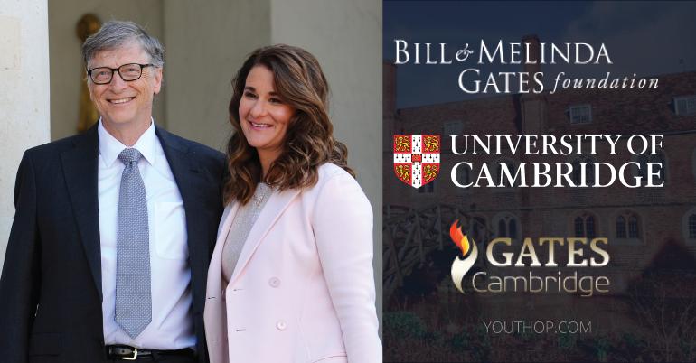 Gates Cambridge Scholarship Program 2021 in University of Cambridge