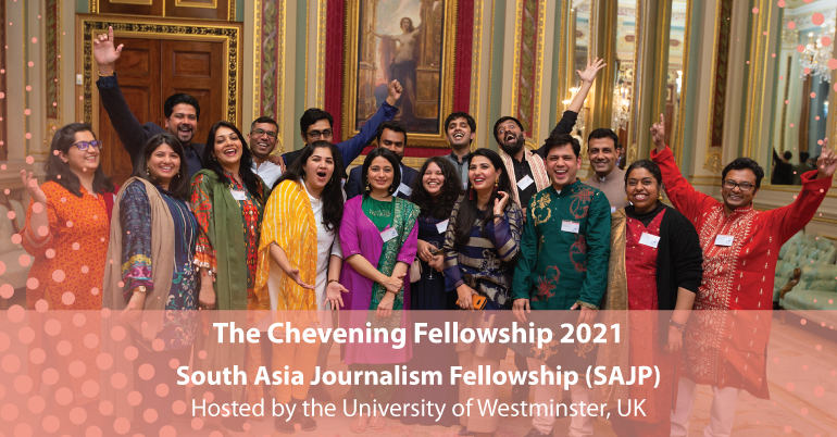 South Asia Journalism 2021 in UK