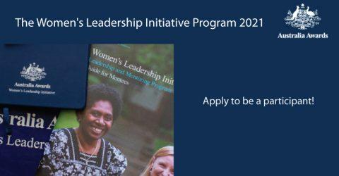 Australia Awards – The Women's Leadership Initiative Program 2021