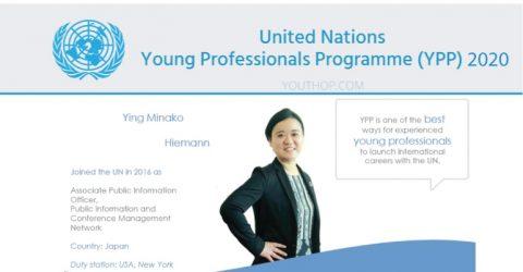UN Young Professionals Programme (YPP) 2020