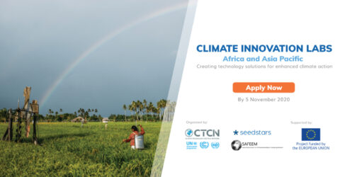 Open Call for The Climate Innovation Labs – Virtual Event