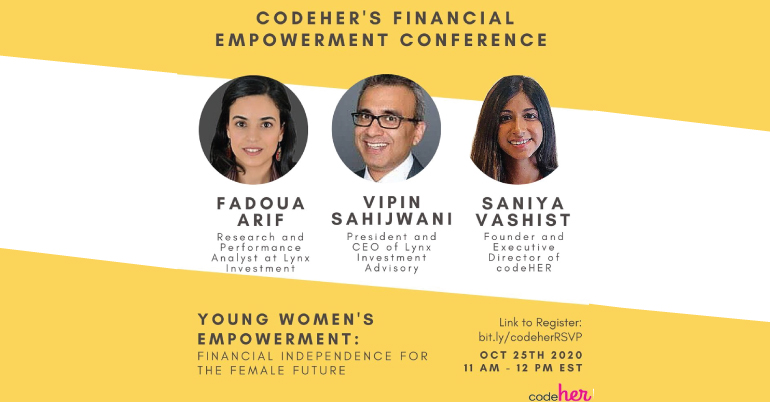 codeHER's Young Women's Financial Empowerment Conference