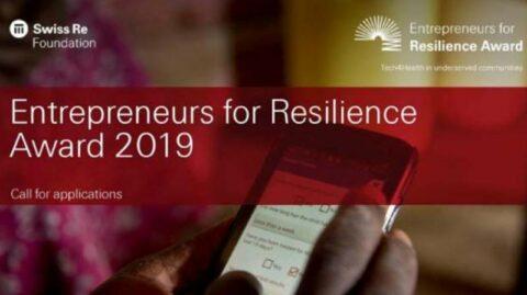 Call for Entrepreneurs for Resilience Award 2020