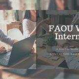 Fatima Al-Fihri Open University Winter Internship 2020