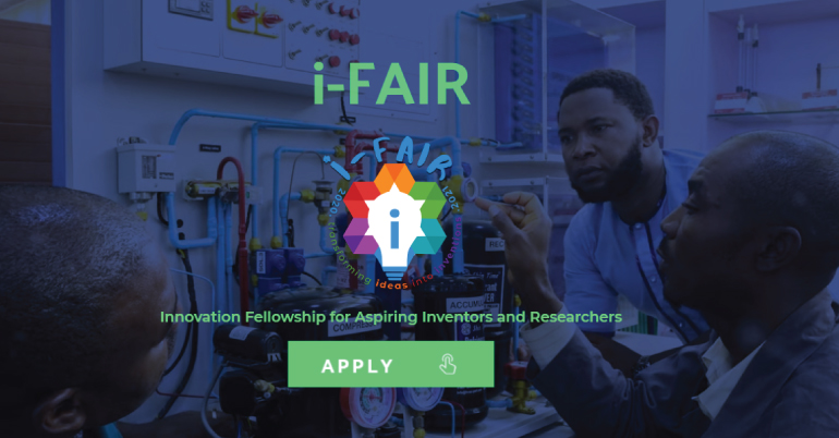 Innovation Fellowship for Aspiring Inventors and Researchers 2020