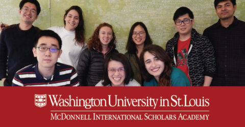 McDonnell International Scholars Academy Fellowship at Washington University in St. Louis
