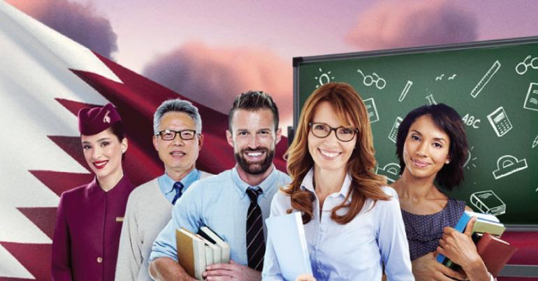 Qatar Airways is Thanking Teachers