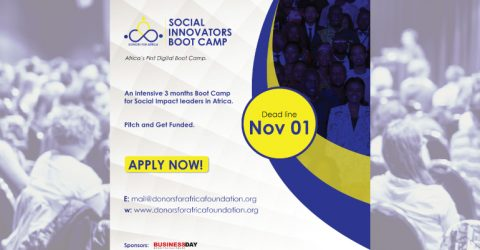 Apply for the Donors for Africa Social Innovators Bootcamp 2020-2021 (Cohort 2)