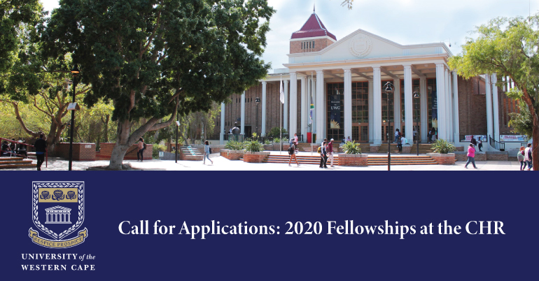 University of the Western Cape CHR Fellowships 2020