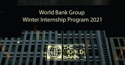 Apply for World Bank Group Winter Internship Program 2021