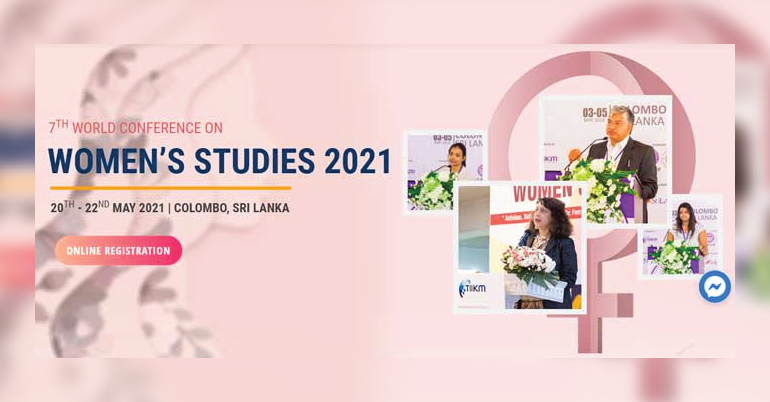 7th World Conference on Women's Studies 2021