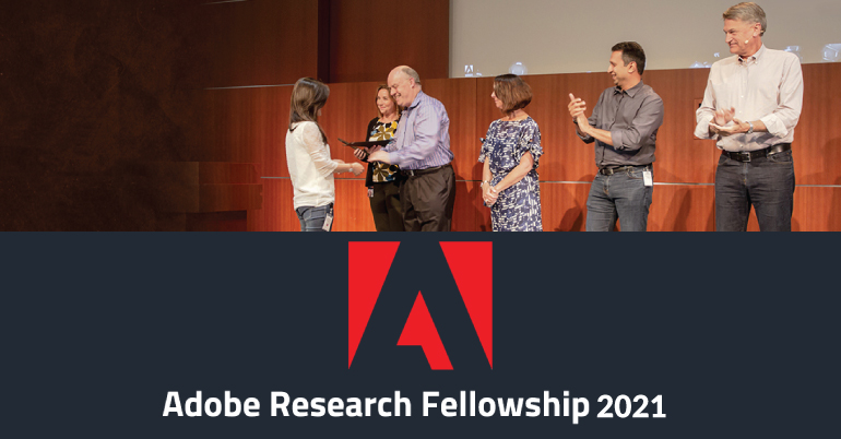 Adobe Research Fellowship 2021