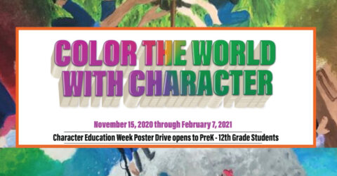 Color the World with Character- Poster Drive