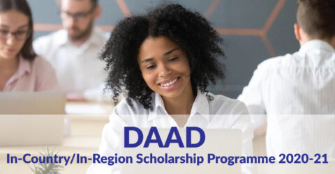 DAAD In-Country/In-Region Scholarship Programme 2020-21