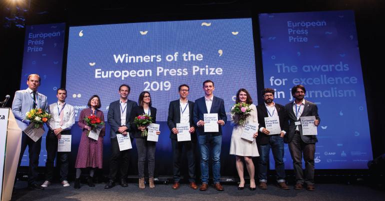 European Press Prize 2021