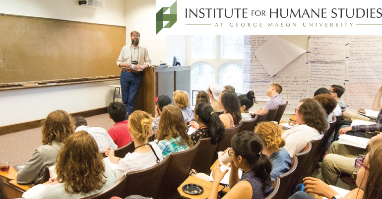 Humane Studies Fellowship in Institute for Humane Studies 2021-2022