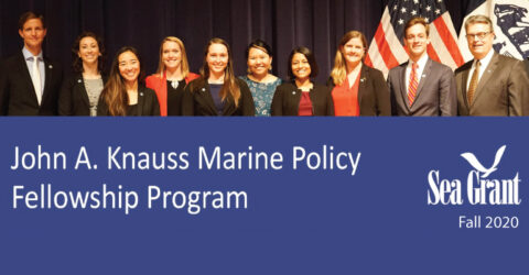 John A. Knauss Marine Policy Fellowship Program 2022