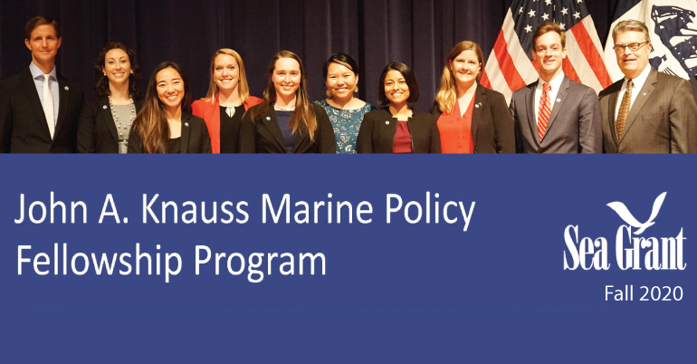 John A. Knauss Marine Policy Fellowship Program