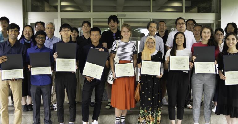 NIG Summer Internship Program in Japan 2021