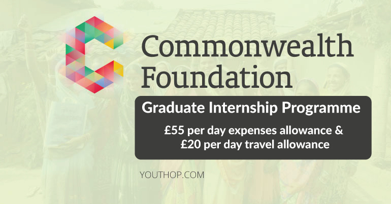 Commonwealth Foundation Graduate Internship Program 2021