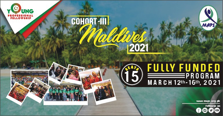III-Young Professional Fellowship Maldives'21
