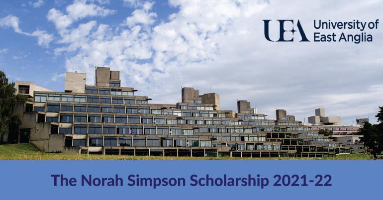 The Norah Simpson Scholarship in UK 2021-22