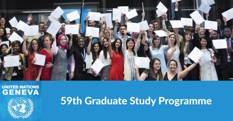 UN Geneva: Graduate Study Program 2021