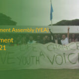 Youth Environment AsseYouth Environment Assembly 2021