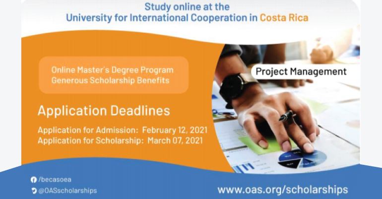 2021 Scholarship Opportunity for Citizens of OAS Member States