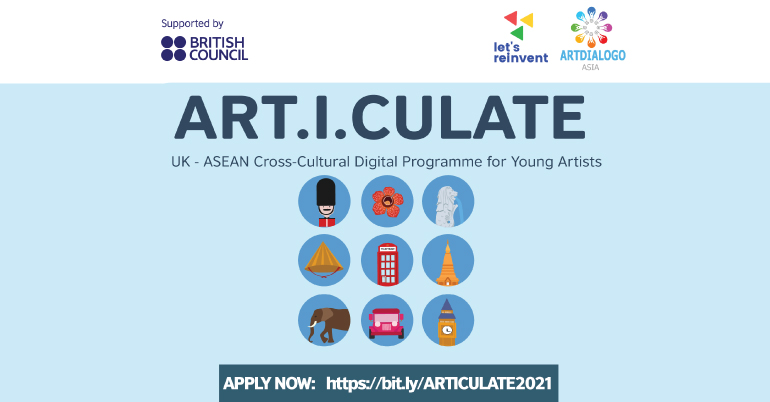 ARTICULATE: UK-ASEAN Cross-Cultural Digital Programme 2021