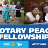 Fully-Funded Rotary Peace Fellowships 2021