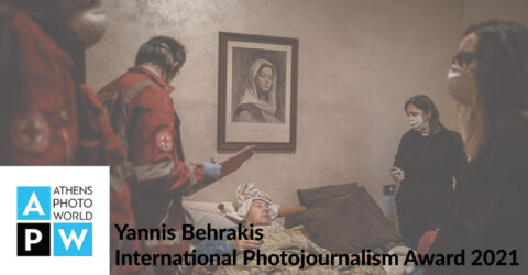 Yannis Behrakis International Photojournalism Award 2021