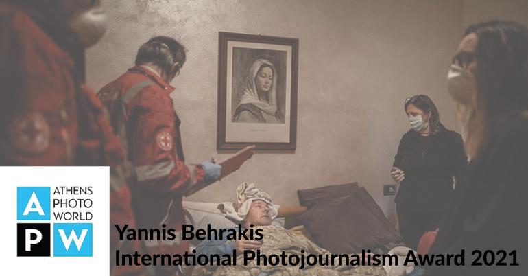 Yannis Behrakis International Photojournalism Award 2021