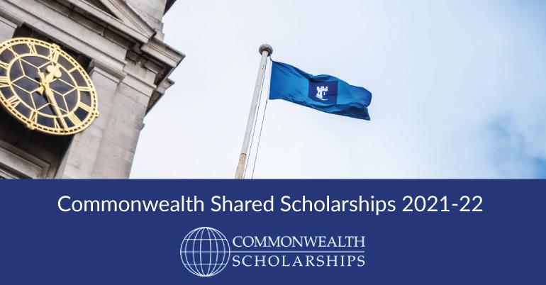 Commonwealth Shared Scholarships 2021-22