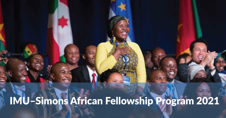 IMU–Simons African Fellowship Program 2021