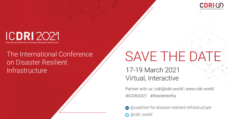 International Conference on Disaster Resilient Infrastructure (ICDRI) 2021
