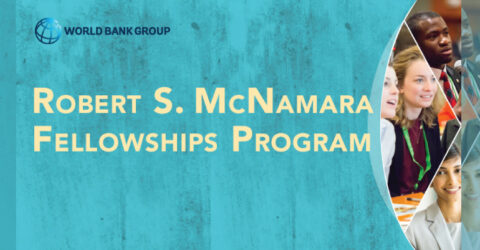 Robert S. McNamara Fellowships Program 2021 (Fully Funded)