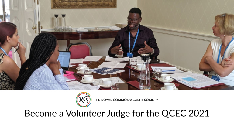 become a volunteer judge for the QCEC 2021