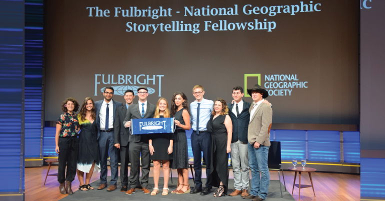 Fulbright-National Geographic Storytelling Fellowship 2022-2023