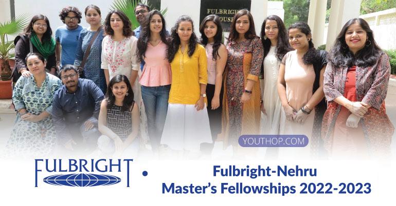 Fulbright-Nehru Master's Fellowships 2022-2023