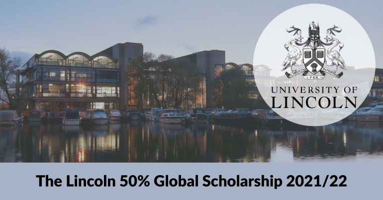 The Lincoln 50% Global Scholarship 2021/22