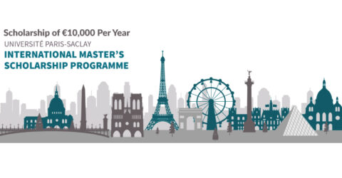 Université Paris-Saclay International Master's Scholarship Programme 2021-2022