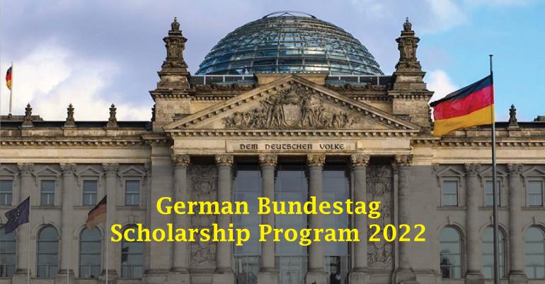 German Bundestag Scholarship Program 2022 for Southern Africans