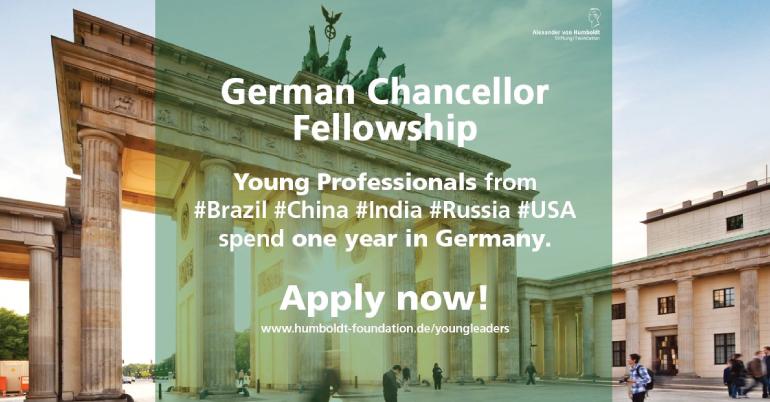 German Chancellor Fellowship 2021