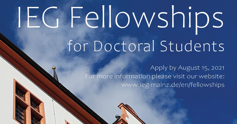 IEG Fellowships for Doctoral Students