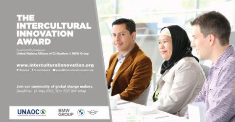 UNAOC/BMW Intercultural Innovation Award 2021